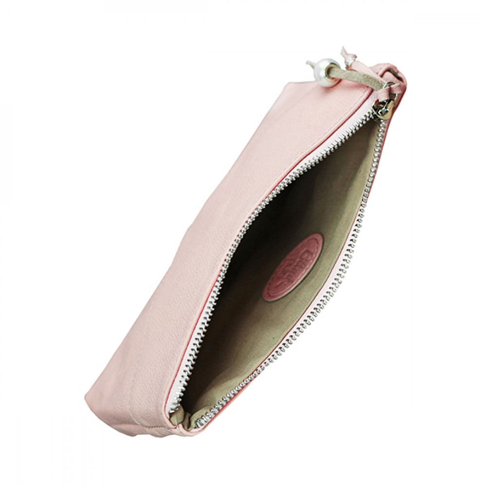 Фото 1Женская косметичка BlankNote Барби натуральная кожа flotar розовая BN-CB-1-barbi