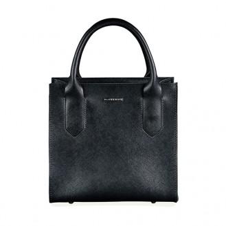 Женская сумка кроссбоди BlankNote Blackwood натуральная кожа Портофино BN-BAG-28-bw чёрная