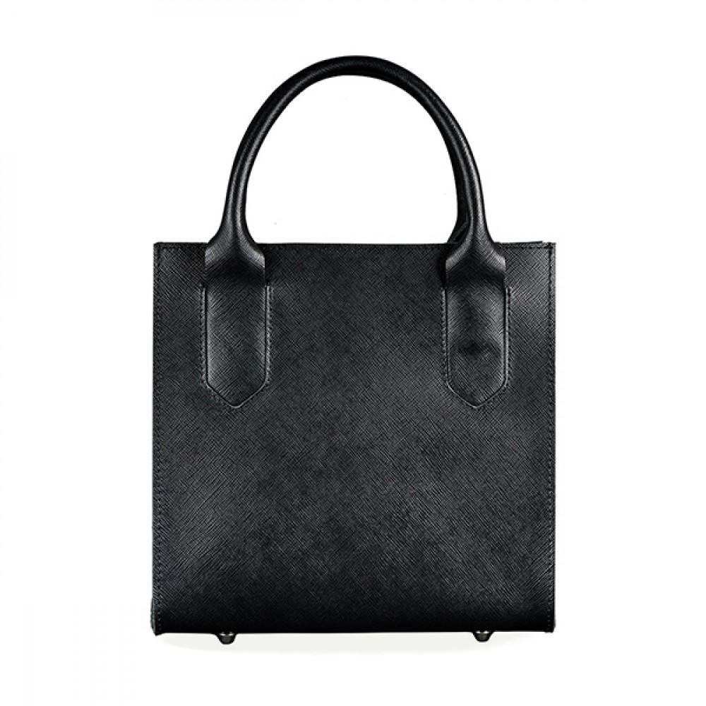 Фото 5Женская сумка кроссбоди BlankNote Blackwood натуральная кожа portofino чёрная BN-BAG-28-bw