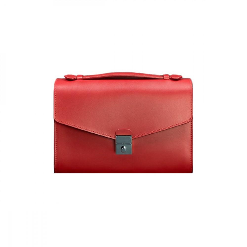 Женская сумка-кроссбоди BlankNote Lola Рубин натуральная кожа BN-BAG-35-rubin ярко-красная