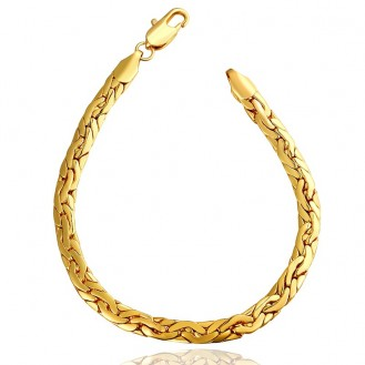 Браслет Тай 166192 18K Yellow Gold Plated