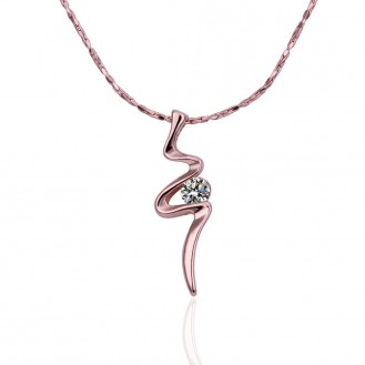 Цепочка с кулоном Corazon Rose 155975 18K Rose Gold Plated