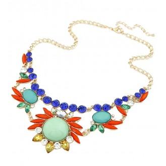 Ожерелье Гавайи P002410 бирюзовое