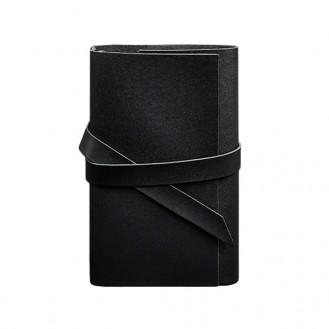 Блокнот софт-бук BlankNote 1.0 Графит натуральная кожа crust BN-SB-1-st-g чёрный