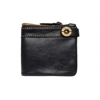 Кожаный кошелёк Gato Negro Espacio GN191 Black