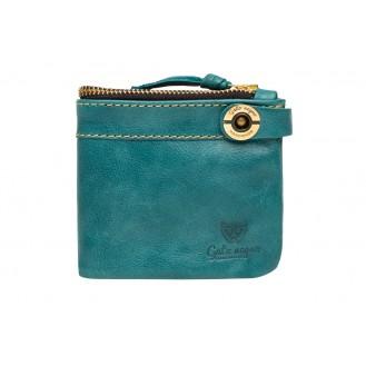 Кожаный кошелёк Gato Negro Espacio GN185 Turquoise