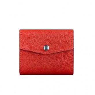 Женский кошелёк BlankNote 2.1 натуральная кожа Портофино BN-W-2-1-red красный