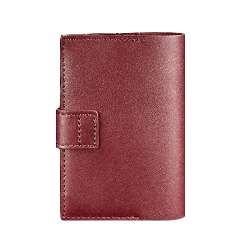Фото 3Обложка для паспорта BlankNote 4.0 Виноград натуральная кожа BN-OP-4-vin бордовая