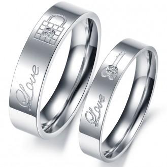 Парные кольца Хранители Преданности 153350 из нержавеющей стали 316L