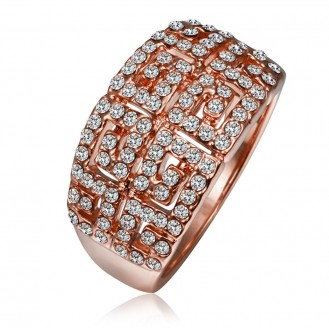 Кольцо Меганиси 561086 18K Rose Gold Plated