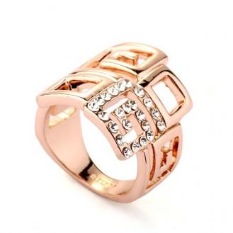 Кольцо Перистера 518011 18K Rose Gold Plated