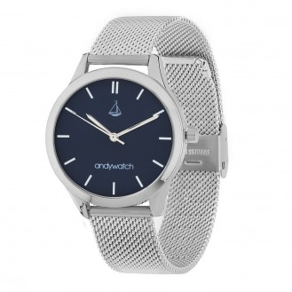 Женские часы Andywatch Universe Moonlight Blue AWsilver5