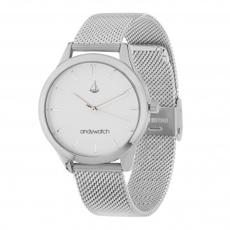 Женские часы Andywatch Universe Moonlight White AWsilver1
