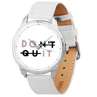 Женские наручные часы Andywatch Do it AW 606 на белом ремешке (экокожа)