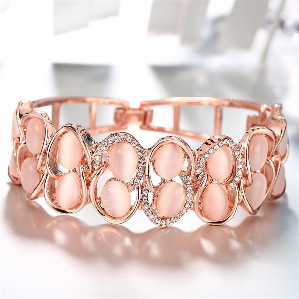 Фото 4Браслет Роксана 174161 18K Rose Gold Plated